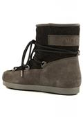 Far Side Low Suede Gl. Grey Black