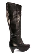 Zip Boots Dark Brown