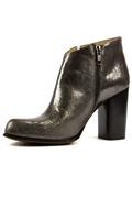 High Heel Ankle Boot Anthracite Laminate