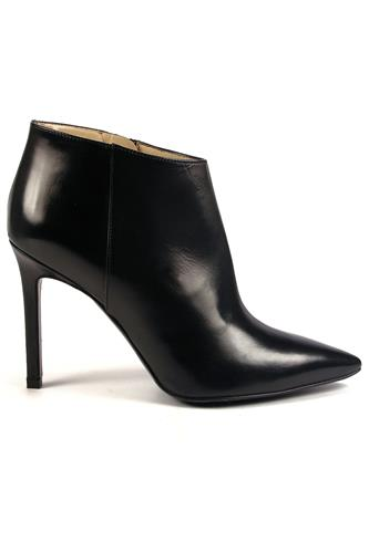 High Heel Ankle Boots Black Leather, ROBERTO FESTA
