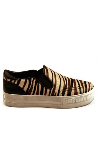 ASHJungle Zebra Cream Black