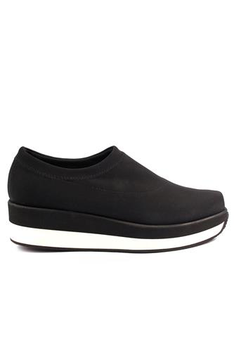 PALOMA BARCELO'Palomitas Fashion Lycra Gum Outsole Black White