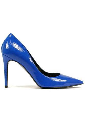 Decolletè Blue Cobalt Patent Leather, BRUGLIA