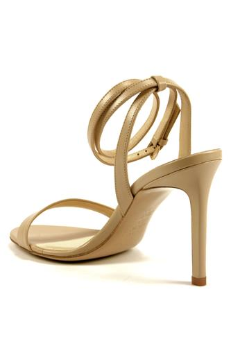 Sandal Beige Leather