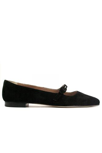 CHEVILLECatherine Black Suede