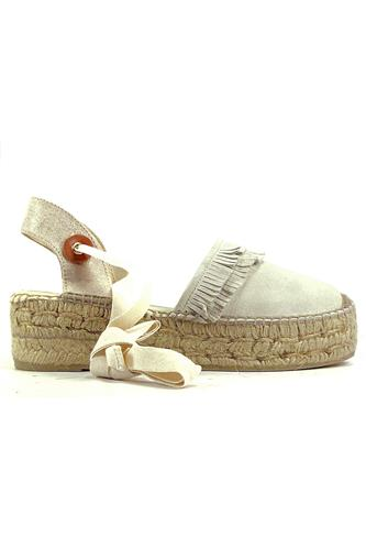 ESPADRILLESDea White Cream Suede