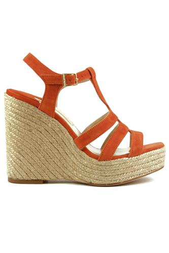 PALOMA BARCELO'Ferelle Cord Suede Orange