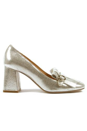 ROBERTO FESTALady Silver Crackle Leather