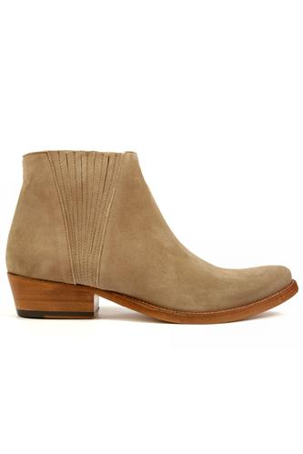 Low Boot Sand Suede, OASI