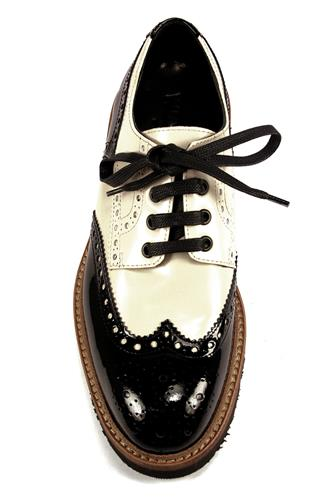 Shoes Patent Leather Black Cream
