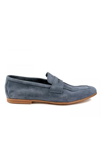 Moccasin Bluette Soft Suede Unlined, WEXFORD