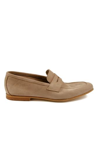 Moccasin Taupe Soft Suede Unlined, WEXFORD